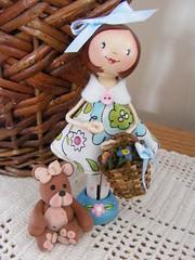 Ms. Lori (Ordiej) Tags: wood wire dolls handmade ooak glue handpainted material ribbon clothespins