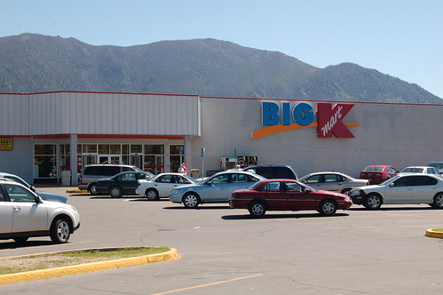 k mart logo. This is the Kmart in Butte,