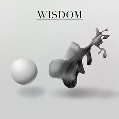 WISDOM (nthnschrdr) Tags: design simple didot nthndesign tonycecomsellillustrationsvectorsphotos