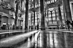 Sagrada Familia (jev) Tags: barcelona leica spain angle cathedral basilica wide rangefinder artnouveau catalan wate antonigaudi spanishbaroque leicam9 trielmar161821mm empleexpiatoridelasagradafamília basilicaandexpiatorychurchoftheholyfamily spanishlategothic