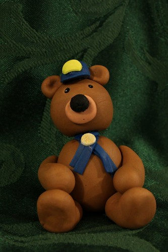 Fondant Boy Scout Bear