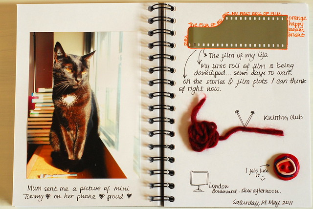 Creative Notebook 6. Saturday
