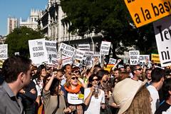 La manifestación del 15M
