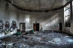 Infirmary (matty87uk2) Tags: eye abandoned trash hospital nikon ruins decay homeless creepy exploration hdr infirmary wolverhampton urbex d5100