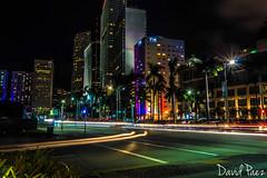 Downtown Miami (Davidpaez27) Tags: downtown miami florida nightshoot longexposition landscape buildings night