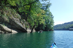 Lake Jocassee with Bennie Waddell-85 (RandomConnections) Tags: jocassee kayaking lakejocassee paddling salem southcarolina unitedstates whitewaterriver wrightcreekfalls us