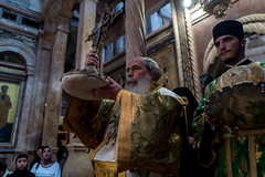 Exaltation of the Holy Cross - Church of the Holy Sepulchre, Jerusalem (gadymz) Tags: cross israel jerusalem religionexaltationofthehloycross