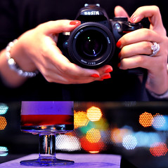 (Emma) Tags: wedding red glass 50mm hands focus diptych crystals bokeh ring nails dynamite icetea cameraface ngiht polsih d5000 taiocruz