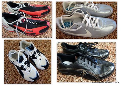 Fila, Nike, Knup..