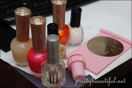 nail art design and tools
