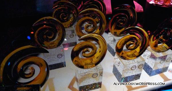 SPH's haul of ten awards