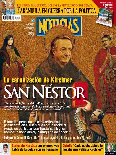 SANTO NESTOR KIRCHNER - SAN KIRCHNER