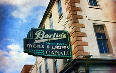 in Charleston since 1883 (Clever Poet) Tags: favorite sign south since charleston carolina 1883 berlins
