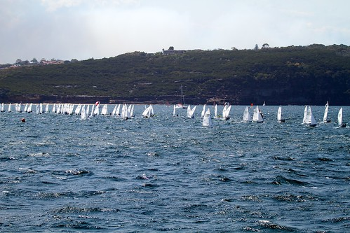 Sail boat racing!