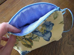 Katherine's Zippered Pouch