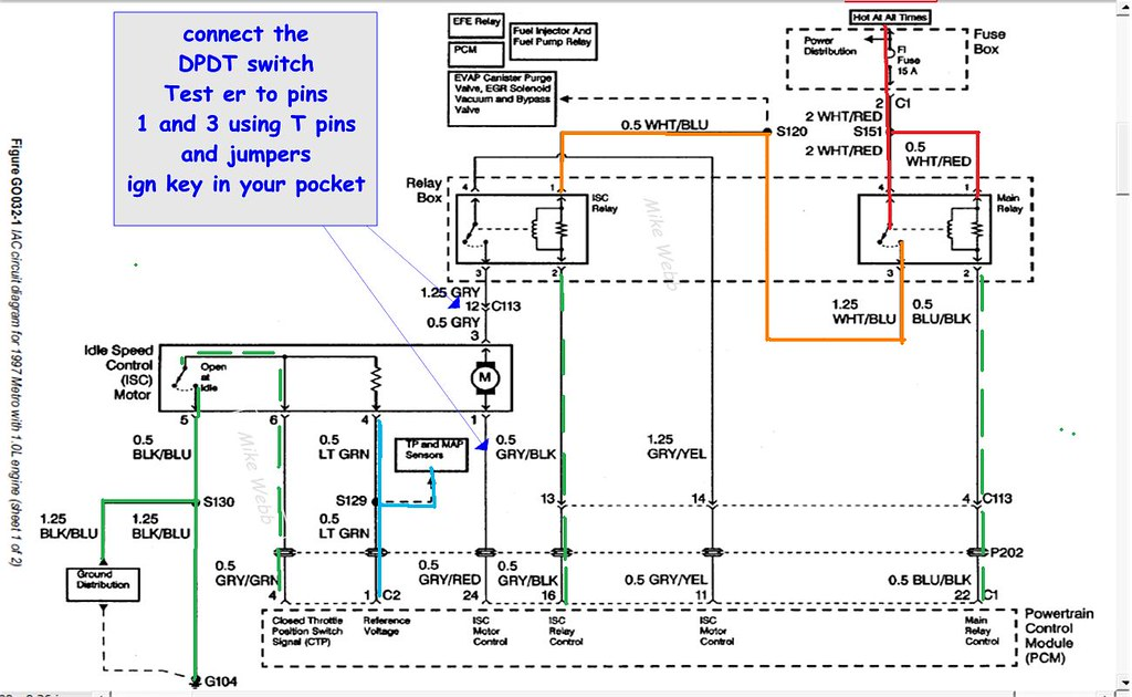 geo metro wire diagram searching diagrams 92 posted image