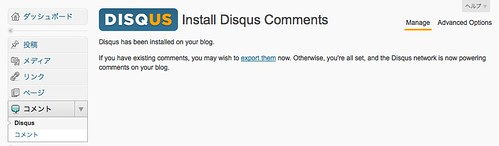 DISQUS on WordPress