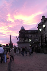 sunset (acinorev79) Tags: city sunset scotland edinburgh europa europe citt scozia