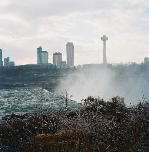 Niagara Falls in Ektar