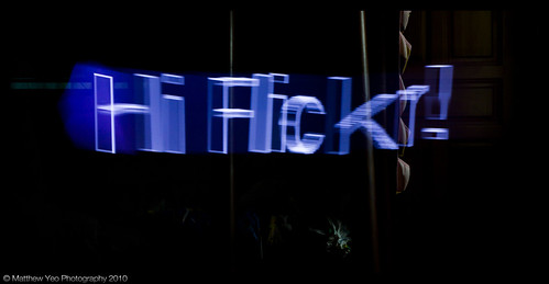 Hi Flickr!