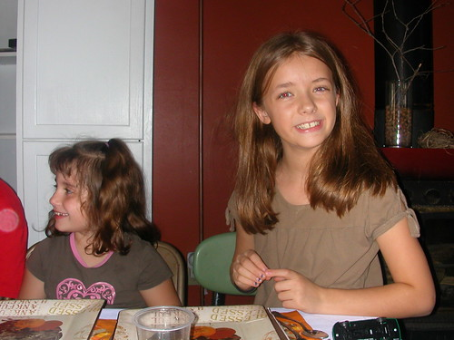 Nov 25 2010 Lizzy and Makenzie