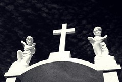 """Réquiem"" (Just Like Heaven') Tags: summer sky art cemetery religion cementerio angels dreams diademuertos alpha requiem"