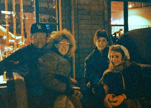 Christmas Carriage ride 1991