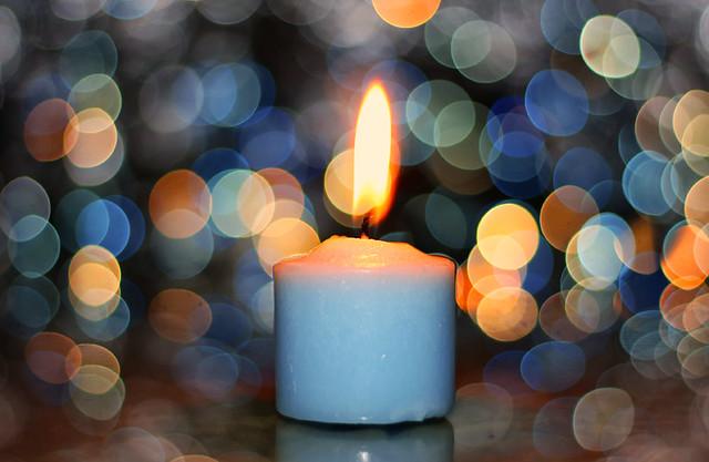 Candle bokeh 2
