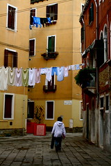 Laundry Day, Venice (lh2roc) Tags: laundry clotheslines
