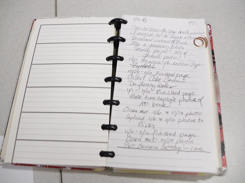 Misc pages in my Autofocus notebook