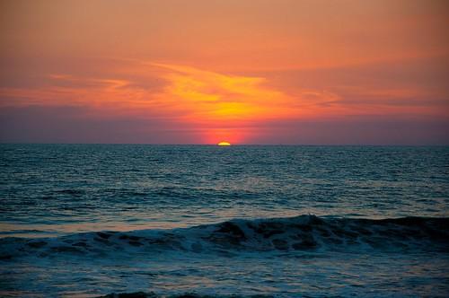 Ocaso en la playa (9)