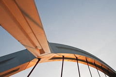 (Matteo Foiadelli) Tags: bridge light sun lines dawn nikon seville foiadelli d300s