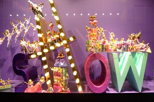 Vitrines de Noël - Paris, novembre 2010
