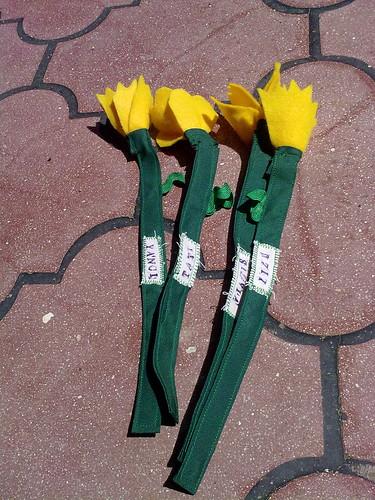 Flores para las maestras