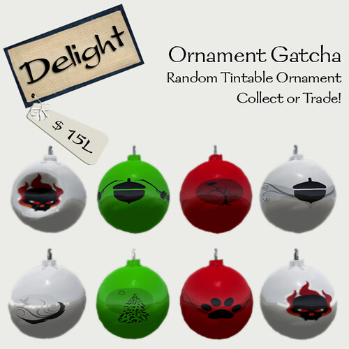 ~Delight~ Ornament Gatcha