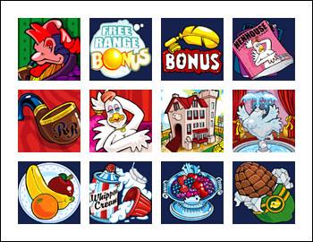 free Cashanova slot game symbols