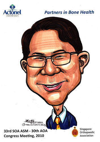 Caricatures for Sanofi-Aventis - 3
