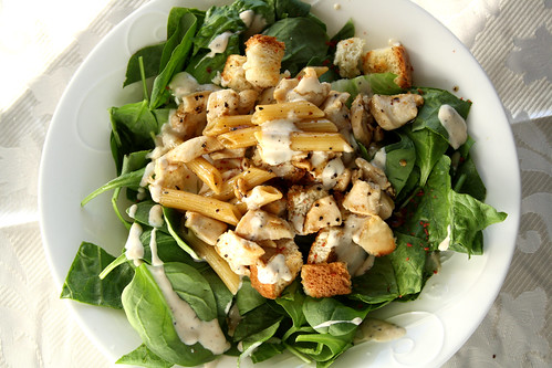 Kraft Sizzling Salads: Chicken Caesar