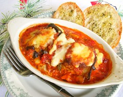 Eggplant Rollatini (Snappy Shop) Tags: food dinner tomato recipe lunch eggplant delicious melted cheesey italianfood comfortfood rollatini
