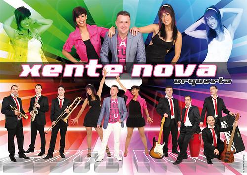 Xente Nova 2011 - orquesta - cartel