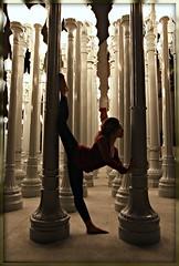 Warmup (scrmhawk0007) Tags: beautiful female losangeles cool model pillar victoria bevin strobist pocketwizardmini