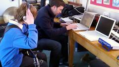Music recording at Nodehill School