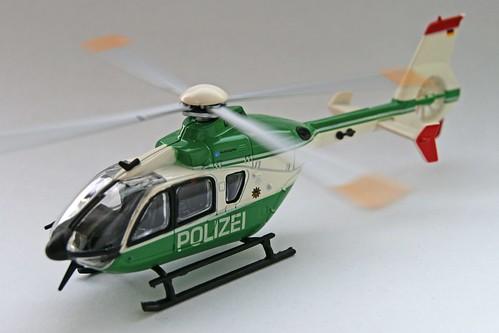 Eurocopter EC 135 - Polizei Sachsen