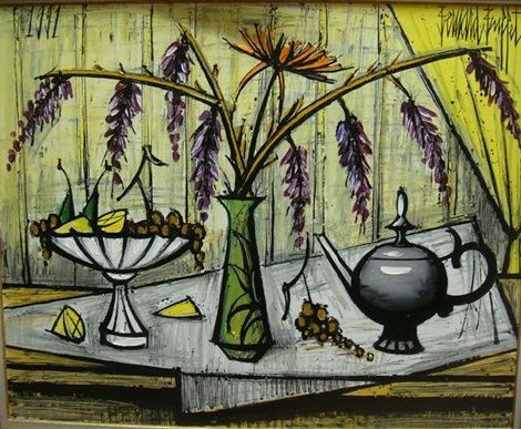 Buffet, Bernard (1928-1999) - 1991 Still Life (Private Collection)