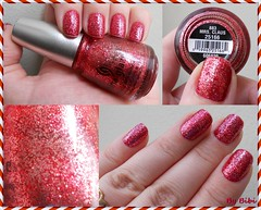 Mrs. Claus da China Glaze (Bibi) Tags: christmas red natal glitter rouge polish vermelho mrsclaus vernis esmalte nel chinaglaze