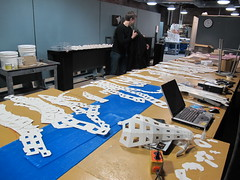 afsart:tessellated rabbit01 (afsart) Tags: pepakura lasercutting digitalfabrication andrewfscott afsart fablabscad