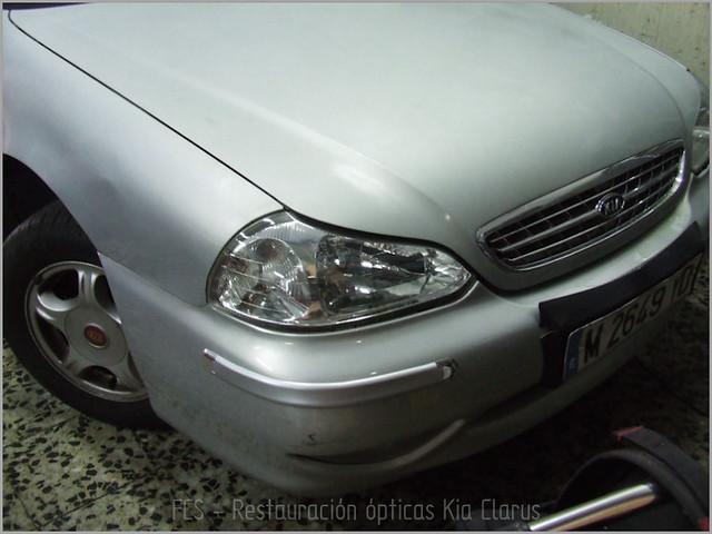 Restauración ópticas Kia Clarus-4