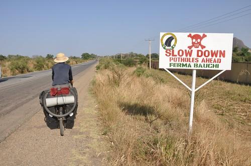 Quiet road to Bauchi