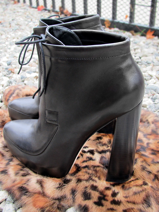 alexander wang ankle boots 2010