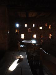 Salle a manger (_Sebas_) Tags: egypt egipto africa afrique desert desierto sinai cheik awad naqb al hawa nabateen nabateo nabatean architecture arquitectura vernacular vernaculo vernaculaire ecolodge pierre piedra stone rock bedouin beduino beduin